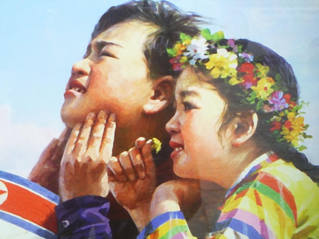 P1000230 1024x768 Das war die Ausstellung Kim IL Sung in Wien