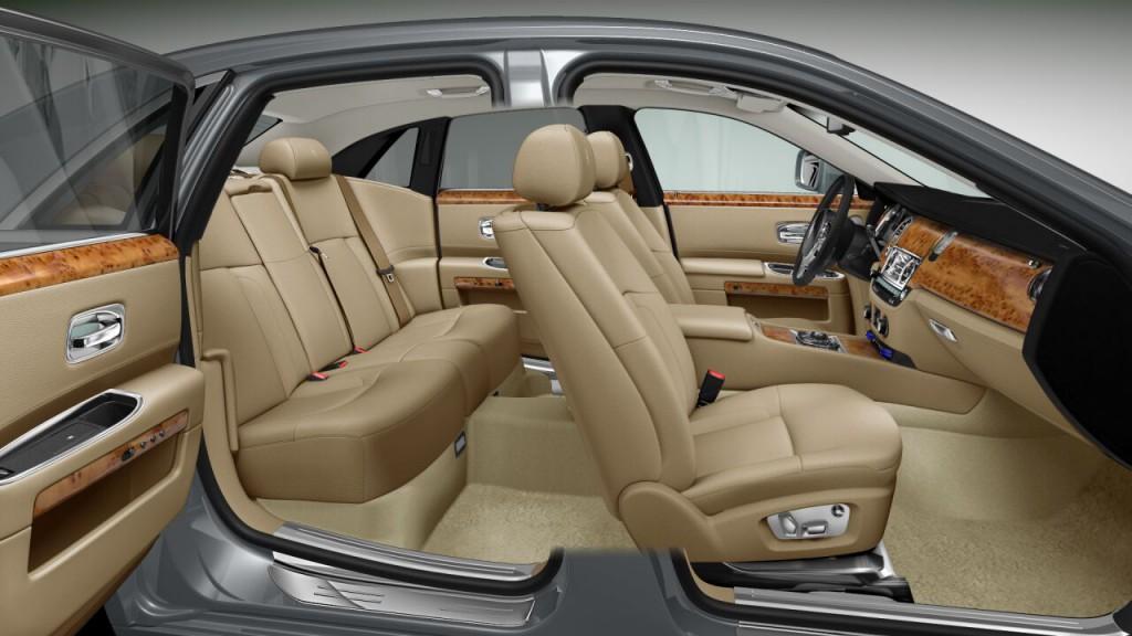 RR Ghost interior 11 1024x576 Der Mythos Rolls Royce