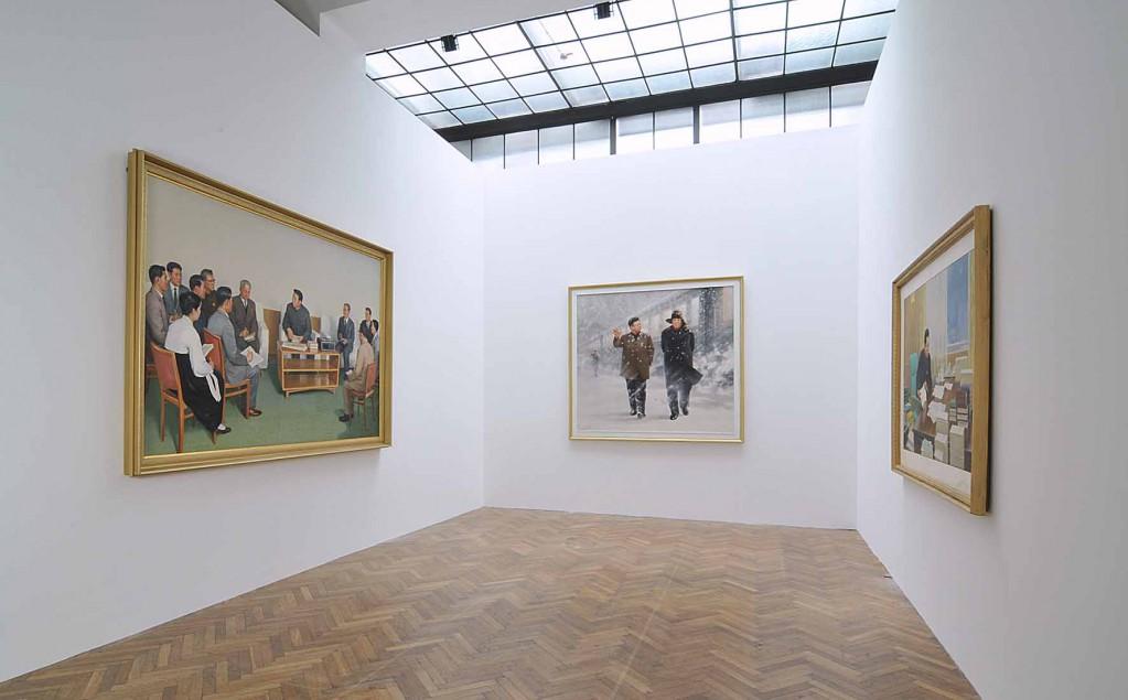 17Ausstellungsansicht 1023x635 Das war die Ausstellung Kim IL Sung in Wien