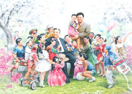 Ohne Titel2 Das war die Ausstellung Kim IL Sung in Wien