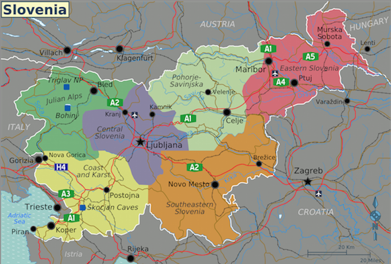 115 Beiträge über Slowenien
