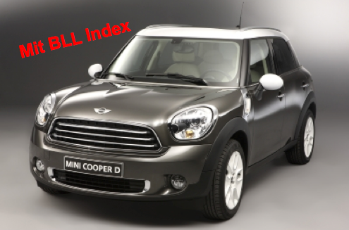 "x1  MINI Countryman ""for ever young"""
