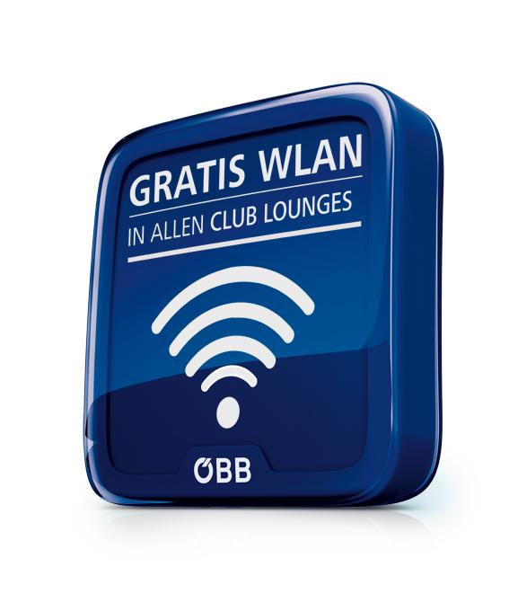 WLAN Button web Ab sofort Gratis Internet in allen ÖBB Lounges