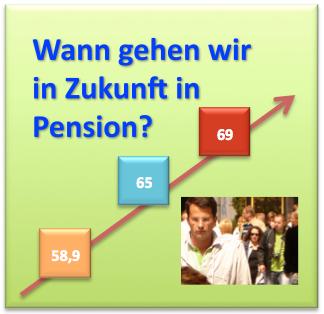 Wann gehen wir in Zukunft in Pension Pensionsantritt   Was erwartet 50 Jährige in Zukunft?