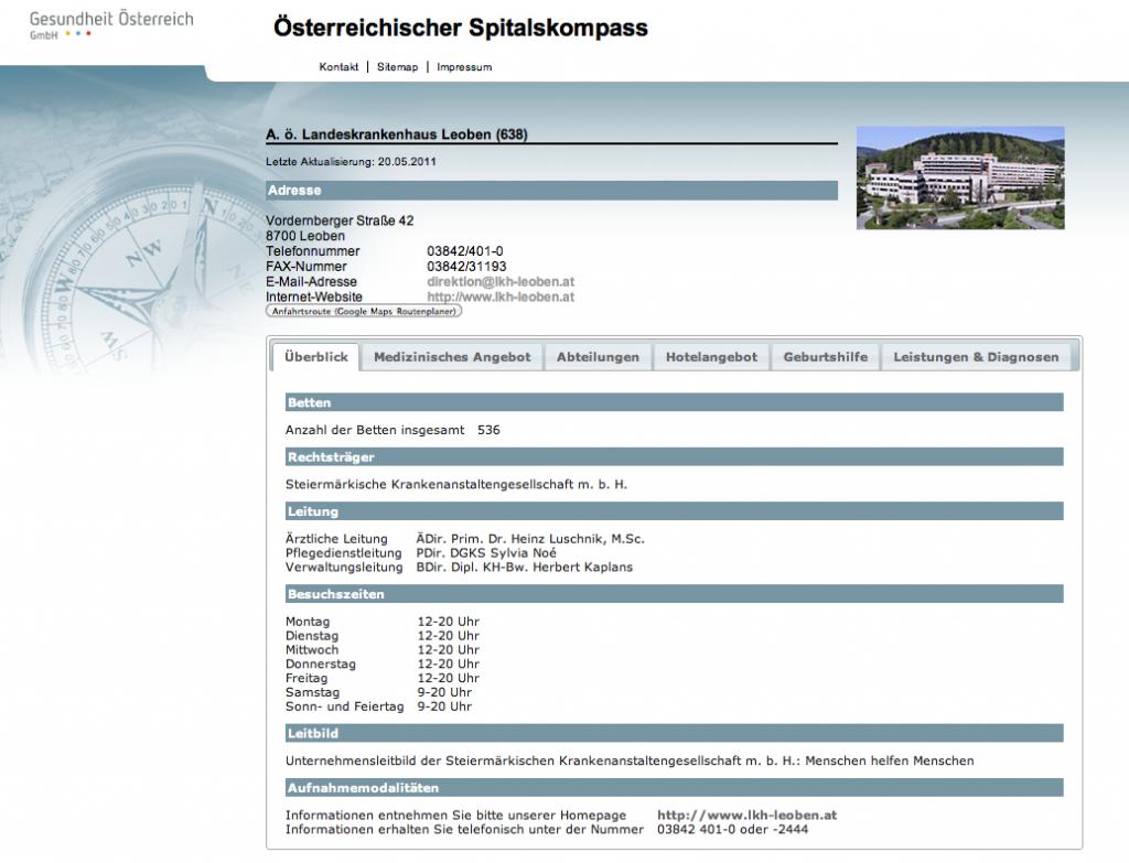 21 1024x783 Der Spitalskompass.at ist online
