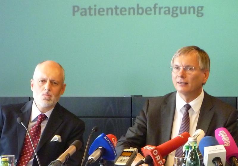 © BLL1 Erste Österreichweite Patientenbefragung liegt vor