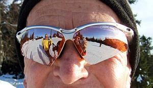 Skifahren guter Wintersport für Senioren