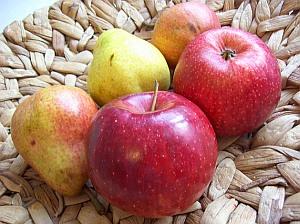 Äpfel und Birnen schützen vor Schlaganfall