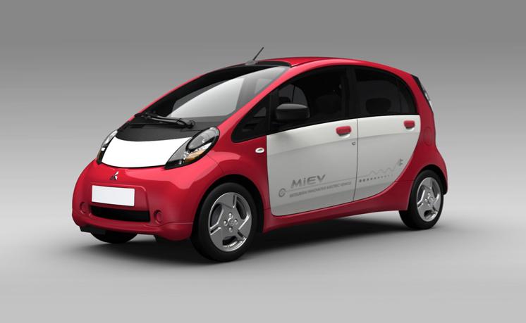 13 Das Elektroauto Mitsubishi i MIEV bei uns im Test