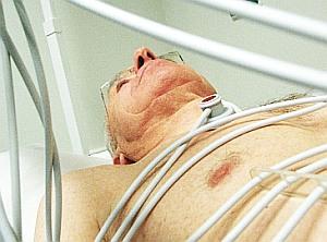 Spitalsbett für alte Patienten lebensgefährlich
