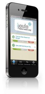 iJoule App: Gesundheitscoach in der Hosentasche