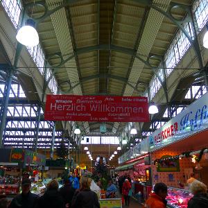 Markthallen erleben Comeback