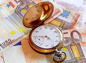 Zeit ist Geld Denken macht unzufrieden