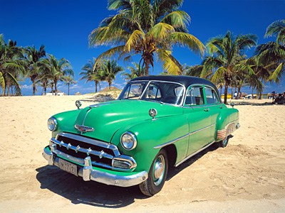 Oldtimer auf Kuba 01 Taxifahrten in Oldtimern auf Kuba