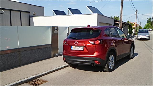 P1010519 Mazda CX 5 bei uns im Test