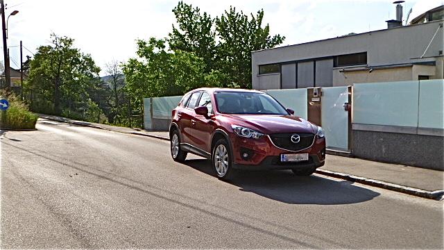 P10105201 Mazda CX 5 bei uns im Test