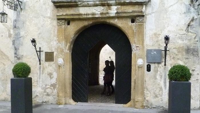 P1010743 Schloss Otocec in Slowenien ein Stück Vergangenheit