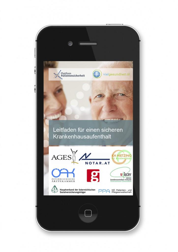 Startscreen A4 1 724x1024 Der neue PatientensicherheitsApp fürs Handy