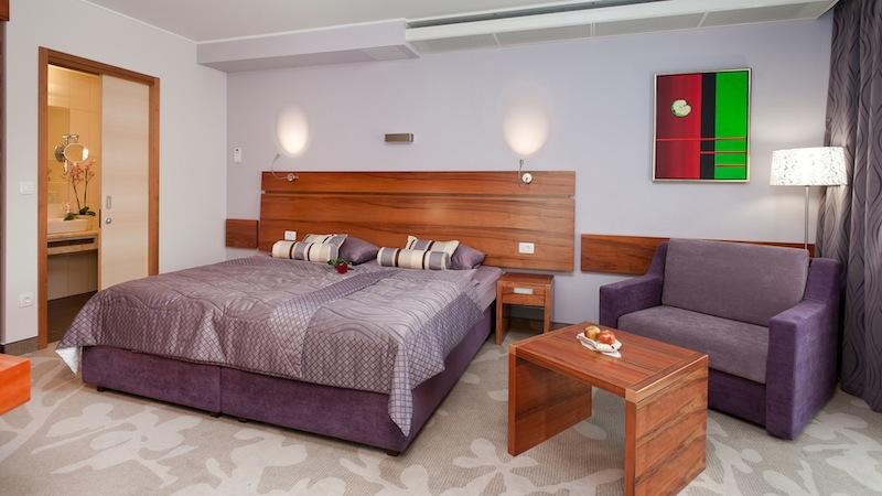Hotel Atrij double room Rogla in Slowenien ein feines Skigebiet