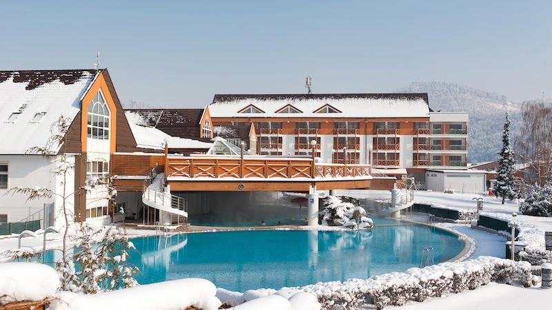Hotel Vital Atrij thermal pools1 Rogla in Slowenien ein feines Skigebiet