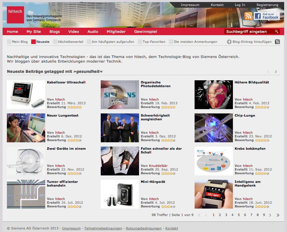 11 Neues Portal stellt innovative Technologien vor