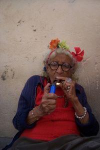 Rauchende Omas verursachen Asthma bei Enkeln