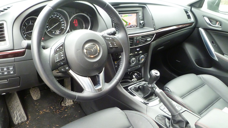 P1020050 Mazda6 neuer Vorstoß