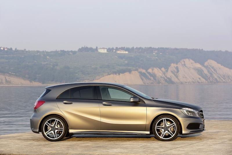 12C735 0026 Die neue A Klasse von Mercedes