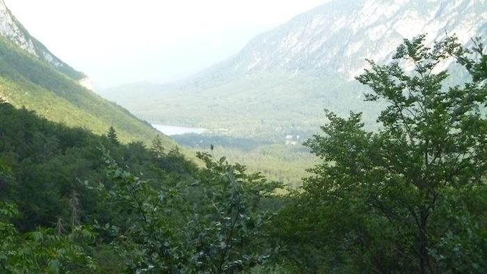 P1020252 Der Nationalpark Triglav in Slowenien