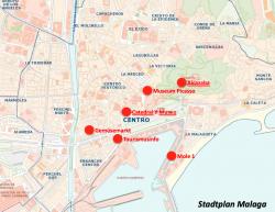Stadtplan Malaga 250x193 Malaga eine bezaubernde aber verkannte Stadt