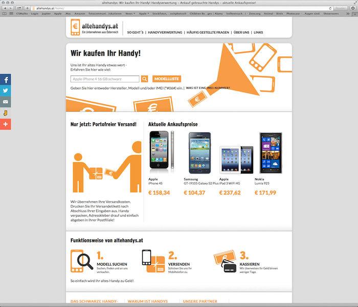 Neu in Österreich, gebrauchte Handys gut verkaufen