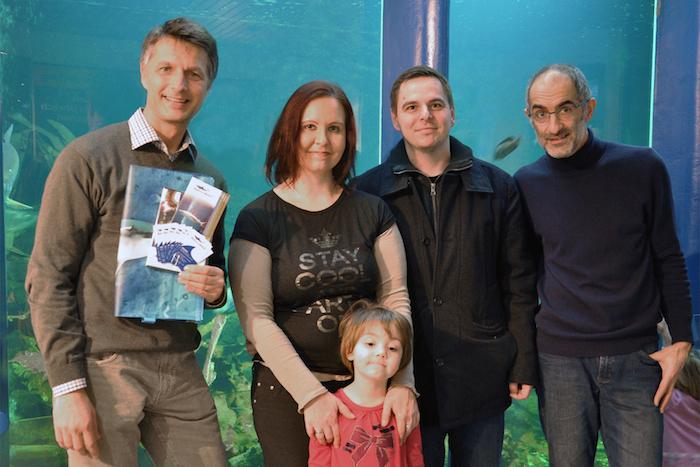 500000steBesucher GütnherHulla 2013 über eine halbe Million Besuche im Haus des Meeres   neuer Rekord