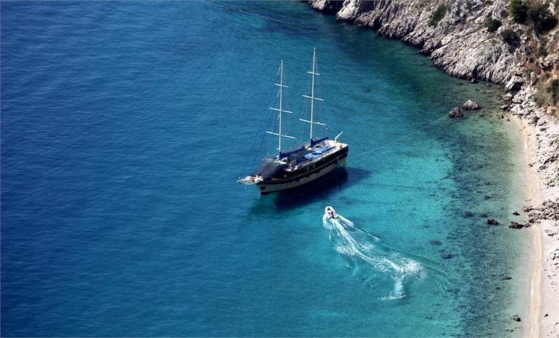 Brela Kroatien  das Land der 1.000 Inseln bietel viel Abwechslung