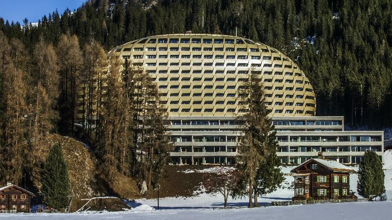 INTERCONTINENTAL DAVOS FACADE Ein außergewöhnliches 5 Sterne Hotel