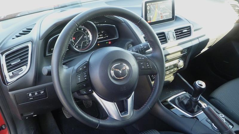 P1030247 Der neue Mazda 3 im Test