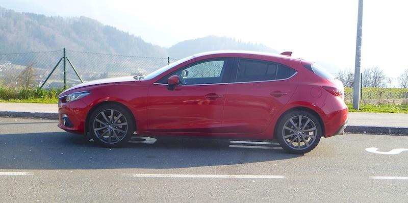 P1030248 Der neue Mazda 3 im Test
