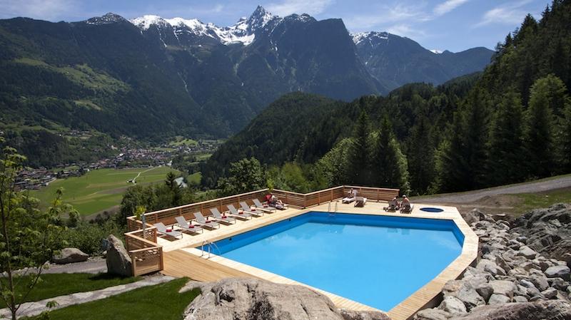 PoolmitAcherkogel Der Traum von einem Hotel ist Realität geworden
