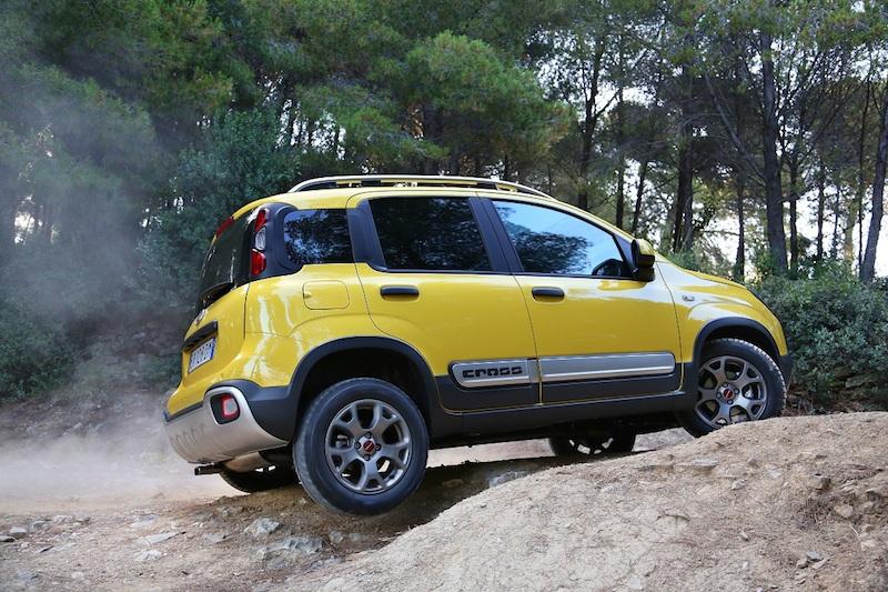 Fiat Panda Cross 071 Neue SUVs immer umweltfreundlicher