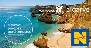 Banner Algarve Urlaub an der Algarve im Herbst