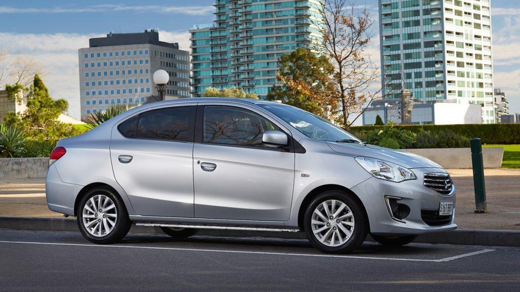 Attrage AUS specs profile 1024x575 Neuer Mitsubishi Attrage 1,2 Intense MIVEC
