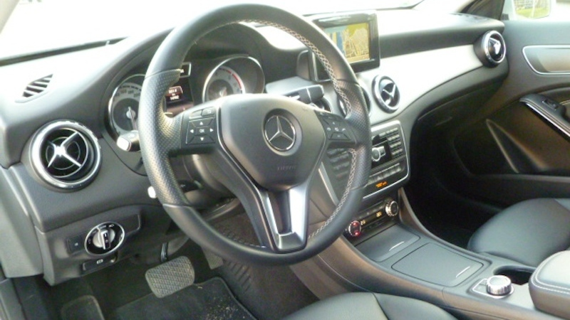 P10404311 Fahrbericht Mercedes Benz GLA
