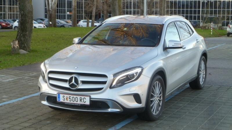 P1040433 Fahrbericht Mercedes Benz GLA