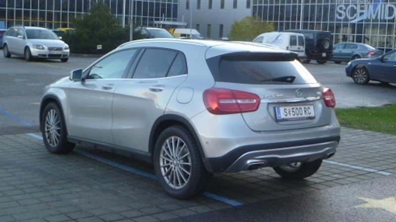 P10404351 Fahrbericht Mercedes Benz GLA