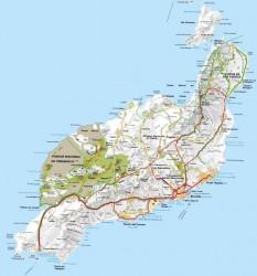 mapa lanzarote grande 233x250 Lanzarote die Romantische Insel der Kanaren
