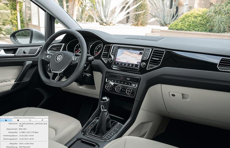 11 Der neue VW Golf Sportsvan