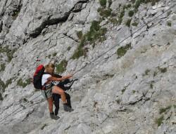 Beim Klettern kommt oft Eigenverantwortung zu kurz