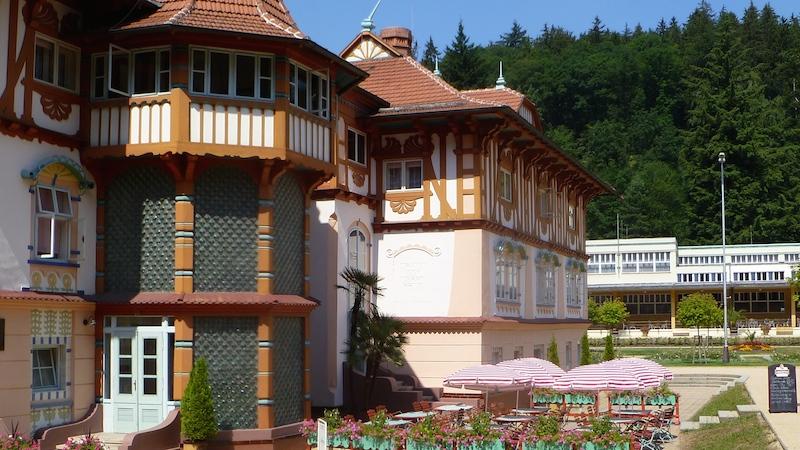 P1050427 Ein Besuch im Heilbad Luhačovice