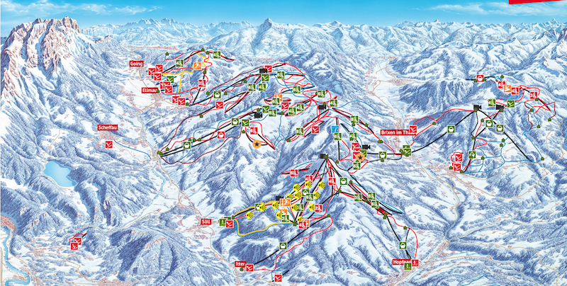 12 Die SkiWelt Wilder Kaiser das größte Skigebiet Österreichs
