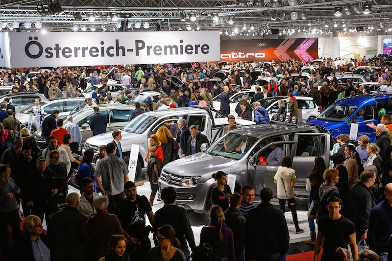 """PI Neuheiten 221215 """"Vienna Autoshow 2016"""""""