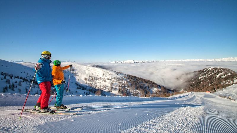 08 Skifahren © Mathias Prägant Winter für Genießer in Bad Kleinkirchheim